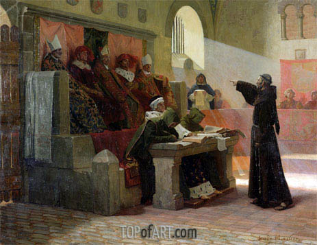 The Agitator of Languedoc, 1887 | Jean-Paul Laurens | Painting Reproduction