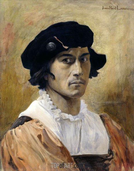 Jean-Paul Laurens | The Florentine, undated