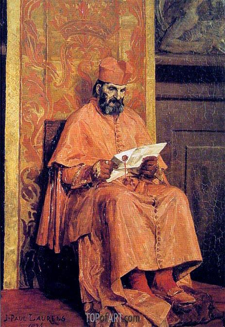 Jean-Paul Laurens | The Cardinal, 1874