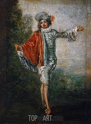 Watteau | L'Indifferent, c.1717