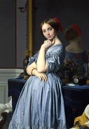 Comtesse D'Haussonville, 1845 von Ingres | Gemälde-Reproduktion