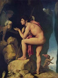 Oedipus and the Sphinx | Ingres | outdated