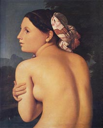 Half-figure of a Bather | Ingres | outdated