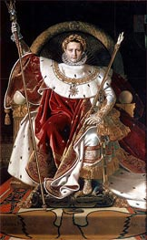 Napoleon I on the Imperial Throne | Ingres | outdated