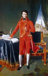 Napoleon as First Consul, 1804 by Ingres | Painting Reproduction