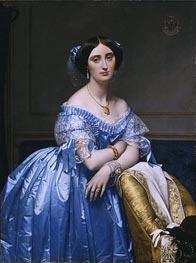 Princesse Albert de Broglie, 1853 von Ingres | Gemälde-Reproduktion