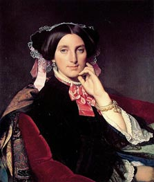 Madame Henri Gonse, c.1845/52 by Ingres | Painting Reproduction