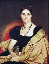 Portrait of Madame Antonia de Vaucay nee de Nittis | Ingres | Painting Reproduction