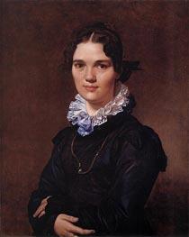 Mademoiselle Jeanne Gonin, 1821 von Ingres | Gemälde-Reproduktion