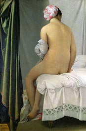 Valpincon Bather, 1808 von Ingres | Gemälde-Reproduktion