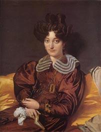 Madame Marcotte de Sainte-Marie | Ingres | Painting Reproduction