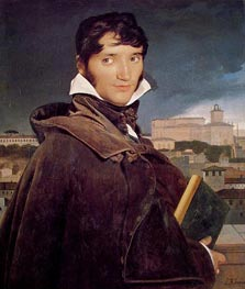 Fransois-Marius Granet, 1807 by Ingres | Painting Reproduction
