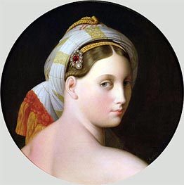 Study for an Odalisque, Undated by Ingres   Painting Reproduction