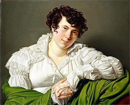 Portrait of a Young Woman, c.1805 by Ingres   Painting Reproduction