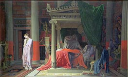 Antiochus and Stratonice, 1840 by Ingres   Painting Reproduction