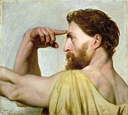 Phidias, c.1827 by Ingres | Painting Reproduction