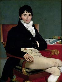 Philibert Riviere, 1805 by Ingres | Painting Reproduction