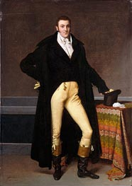 Joseph-Antoine de Nogent, 1815 by Ingres | Painting Reproduction