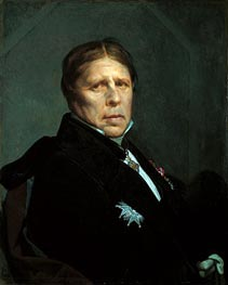 Self Portrait, 1859 by Ingres | Painting Reproduction