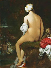 The Small Bather, 1826 by Ingres | Painting Reproduction