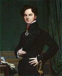Amedee-David, The Marquis de Pastoret, c.1823/26 by Ingres | Painting Reproduction