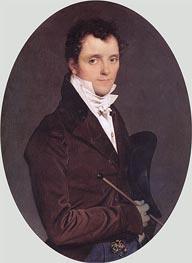 Edme-Francois-Joseph Bochet, 1811 by Ingres | Painting Reproduction