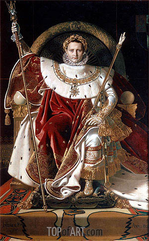 Ingres | Napoleon I on the Imperial Throne, 1806