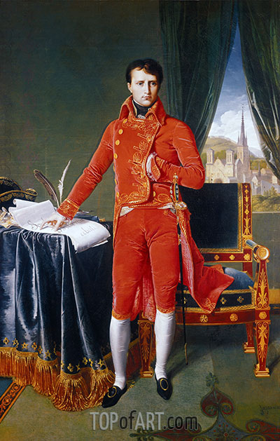 Ingres | Napoleon as First Consul, 1804