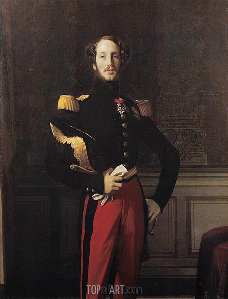 Ingres | Ferdinand-Philippe-Louis-Charles, Duke of Orleans, 1842