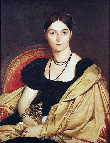 Ingres | Portrait of Madame Antonia de Vaucay nee de Nittis, 1807