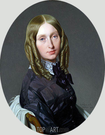 Augustine-Modeste-Hortense Reiset, 1846 | Ingres | Painting Reproduction