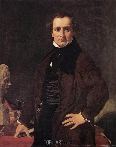 Ingres | Lorenzo Bartolini, 1820