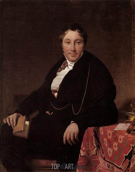 Ingres | Jacques-Louis Leblanc, 1823