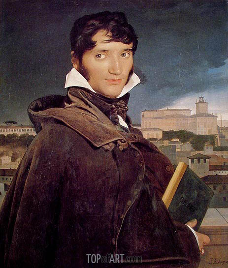 Fransois-Marius Granet, 1807 | Ingres | Painting Reproduction