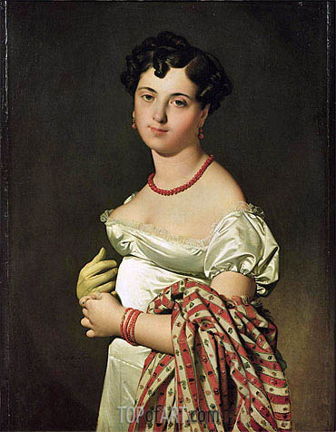 Madame Henri-Philippe-Joseph Panckouke, 1811 | Ingres | Painting Reproduction