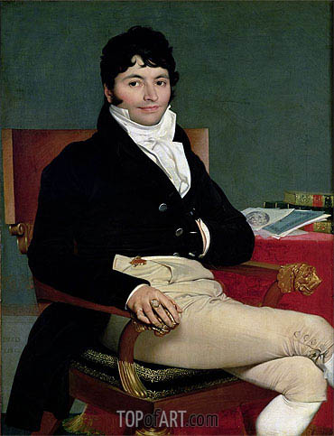 Philibert Riviere, 1805 | Ingres | Gemälde Reproduktion