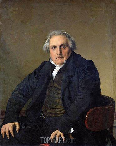 Ingres | Louis-Francois Bertin, 1832