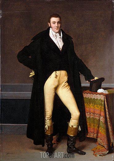 Ingres | Joseph-Antoine de Nogent, 1815
