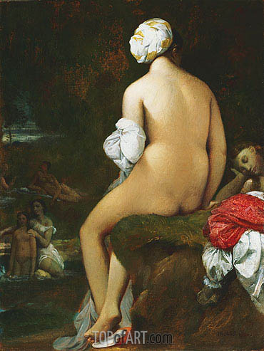 Ingres | The Small Bather, 1826