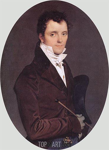 Ingres | Edme-Francois-Joseph Bochet, 1811