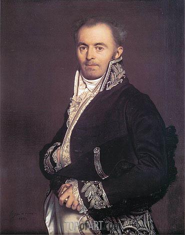 Ingres | Hippolyte-Francois Devillers, 1811