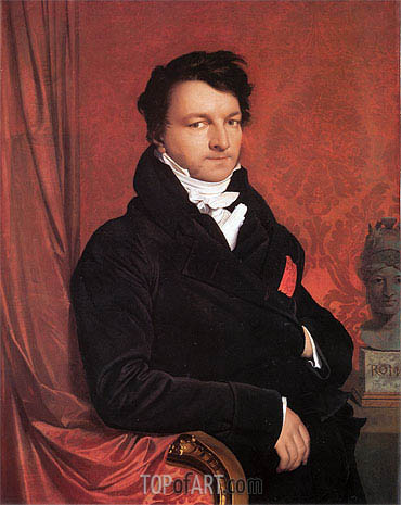 Ingres | Monsieur de Norvins, c.1811/12