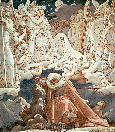 Ingres | The Dream of Ossian,
