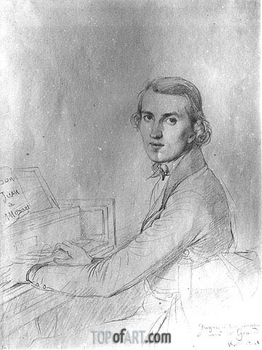Ingres | Charles Gounod, 1841