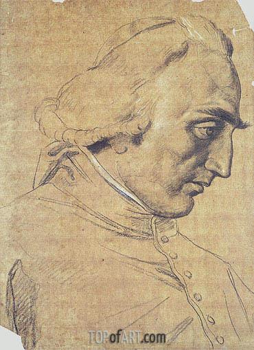 Ingres | Portrait of Cardinal Ercole Consalvi, c.1814