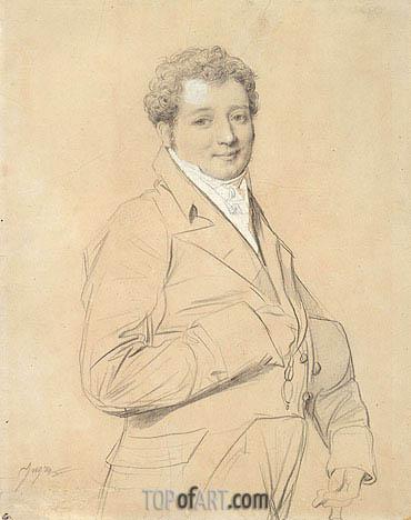Ingres | Portrait of Marquis Allesandro d'Azzia, 1814