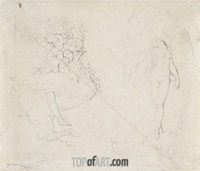 Ingres | Roger Delivering Angelica, 1818