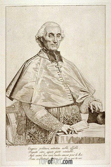 Ingres | Gabriel Cortois de Pressigny, 1816