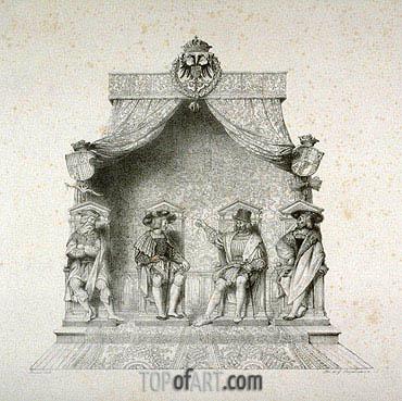 Ingres | Les Quatres Magistrats de Besancon, 1825