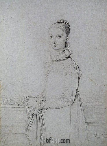 Ingres | Portrait of a Young Woman, c.1815